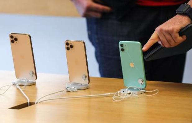 'Apple moet klanten 60 euro betalen voor te snelle veroudering iPhones'