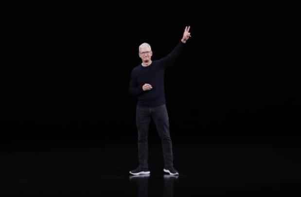 Topman Apple praat met Chinese waakhond