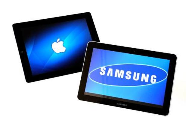 Apple en Samsung strijden om koppositie op smartphonemarkt