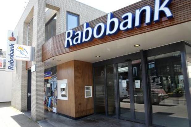Rabobank.be blaast aftocht uit België