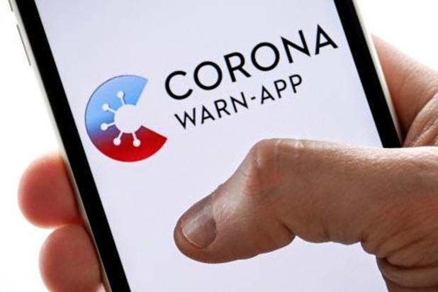 'Duitse corona-app faalde bij miljoenen gebruikers'