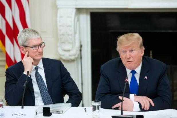 Apple-topman legt Trump gevolg van importheffingen uit