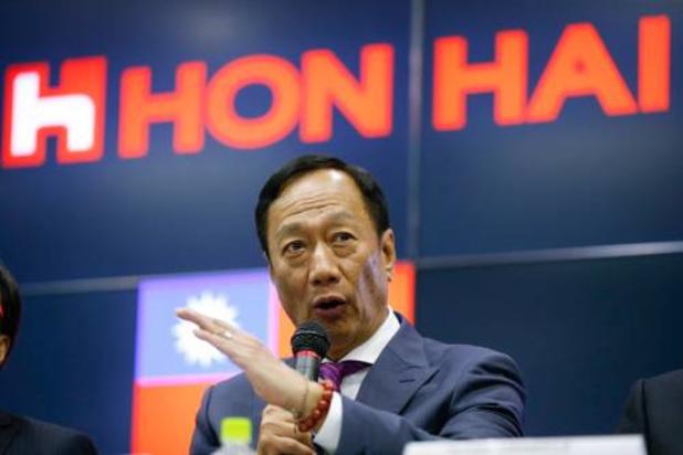 Nieuwe voorzitter bij Foxconn