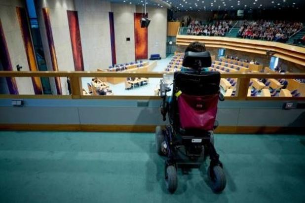 Wijziging van budget voor bijna 20.000 personen met een handicap
