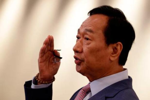 Foxconn-oprichter geen president Taiwan