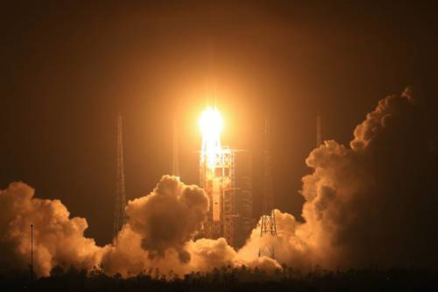 China lanceert eerste commerciële raket