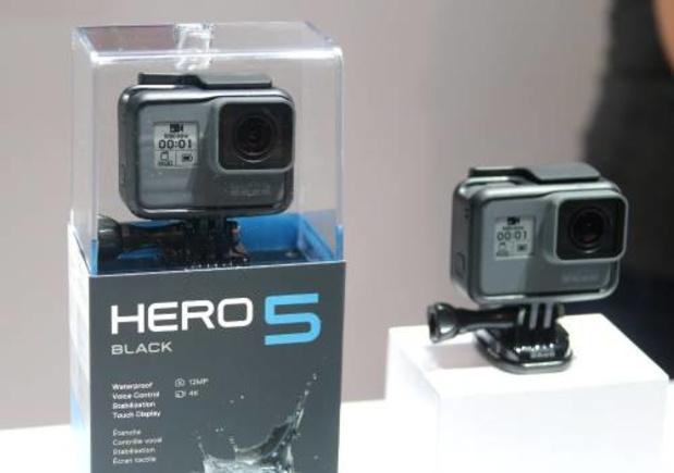 Steeds betere camera's in smartphones maken het lastig voor GoPro