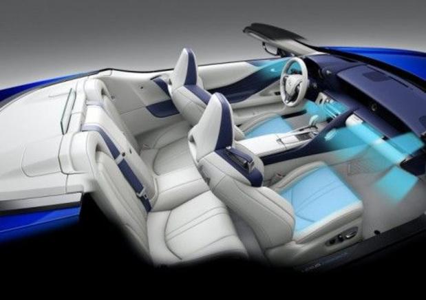 Lexus LC Convertible zet in op rijcomfort