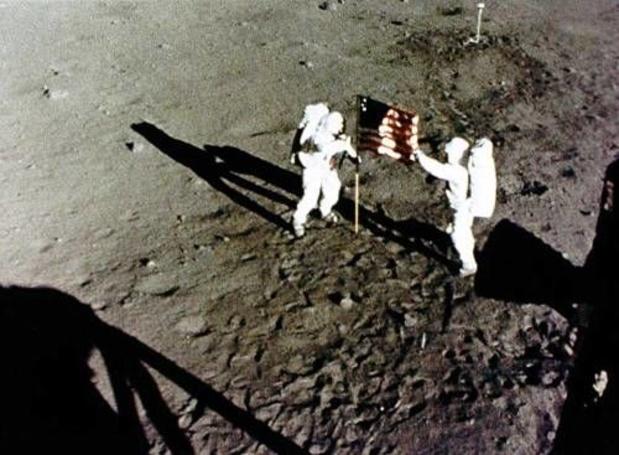 In beeld: de 12 mannen die op de maan wandelden