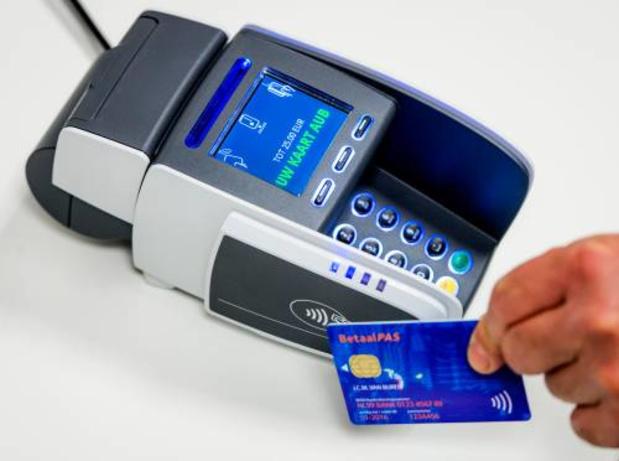 Contactloos betalen zonder pincode kan voortaan tot 50 euro