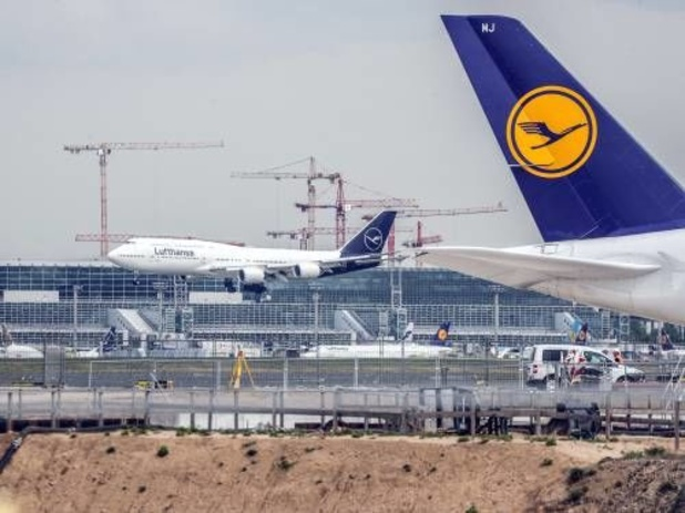 Vliegverkeer Frankfurt stilgelegd om drone