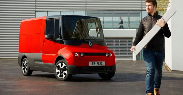 Renault toont conceptversie elektrische bestelwagen