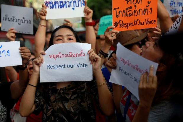 Stembusgang Thailand moet deels overgedaan worden