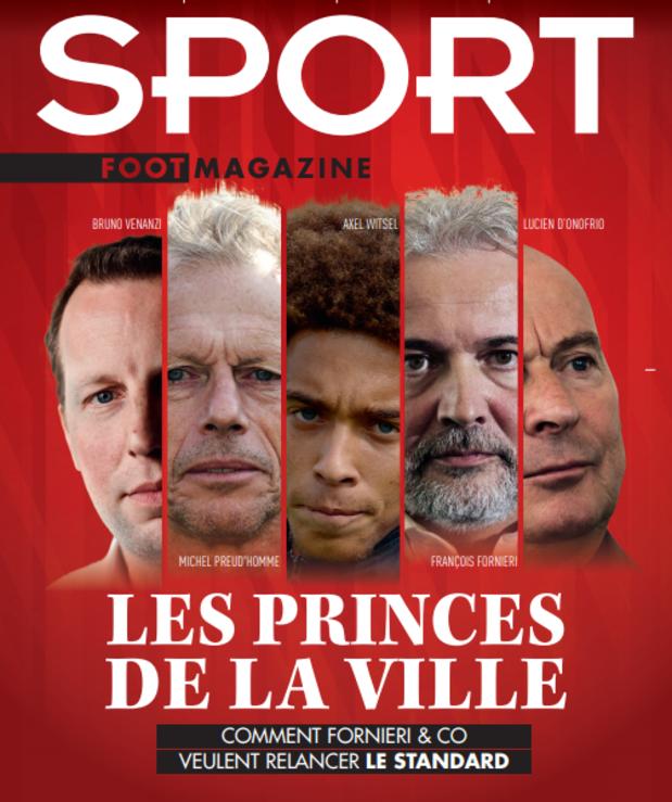 Au menu de Sport/Foot Magazine: Fornieri, Butez, Rezaei et de grandes oreilles