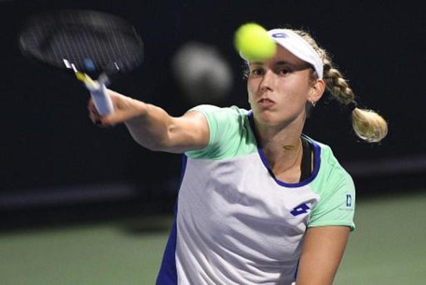 Elise Mertens bereikt eenvoudig tweede ronde WTA-toernooi in Rome