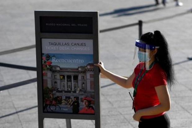 Toeristische reservaties in Spanje kelderen in juli