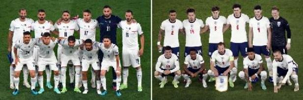 Engeland en Italië strijden zondag om Europese titel
