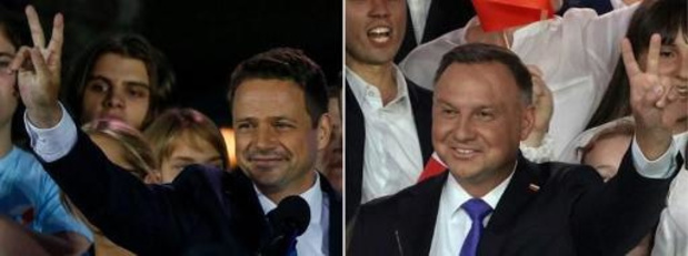 Le président Andrzej Duda réélu en Pologne