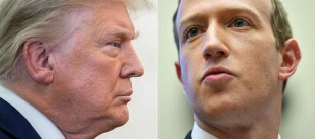 """Facebook verlengt schorsing account Trump """"voor onbepaalde tijd"""""""