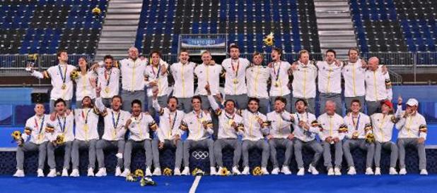 La Belgique du sport et de la politique félicite les Red Lions, médaillés d'or à Tokyo