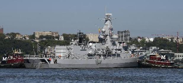La Marine espère que la frégate Léopold sera prête la semaine prochaine