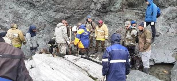 L'avion disparu en Sibérie retrouvé, des survivants aperçus