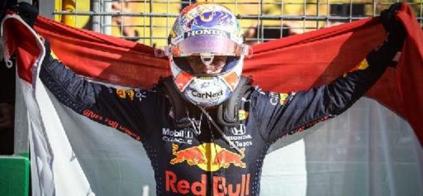 """Gagner à domicile, """"une sensation incroyable"""" pour Max Verstappen"""