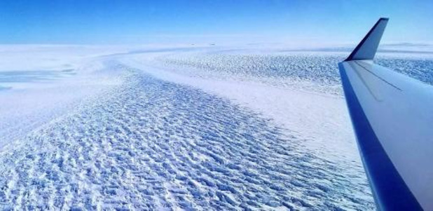 Menace sur les soutiens des glaciers de l'Antarctique