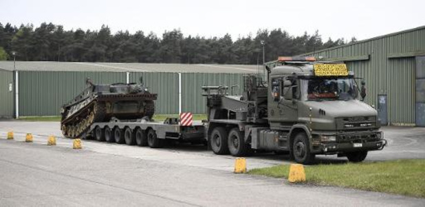 Amerikaans leger haalt 1.500 stukken militair materiaal uit depot in Zutendaal
