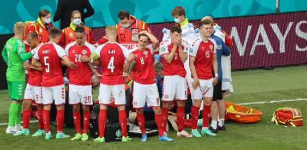 Euro 2020 - Christian Eriksen victime d'un malaise en plein match Danemark - Finlande
