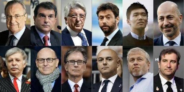 Super League - UEFA stopt juridische procedures tegen Barcelona, Real Madrid en Juventus