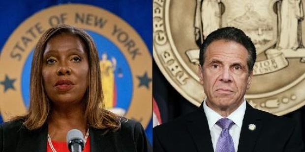 """Andrew Cuomo accusé de harcèlement sexuel - Le gouverneur de New York déplore un """"emballement politique"""" dans son discours d'adieu"""