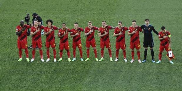 De Bruyne et Doku dans le onze contre l'Italie, Eden Hazard pas sur la feuille