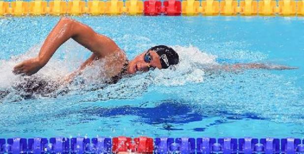Valentine Dumont en finale du 200m libre grâce à un nouveau record de Belgique