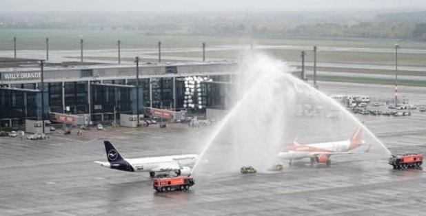 Eerste passagiersvliegtuig vertrekt vanop nieuwe luchthaven Berlijn