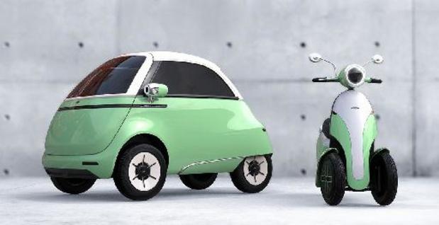 Microlino verrast met de 2.0 en een scooter
