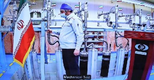 Iran zegt voor het eerst 60 procent verrijkt uranium te hebben geproduceerd