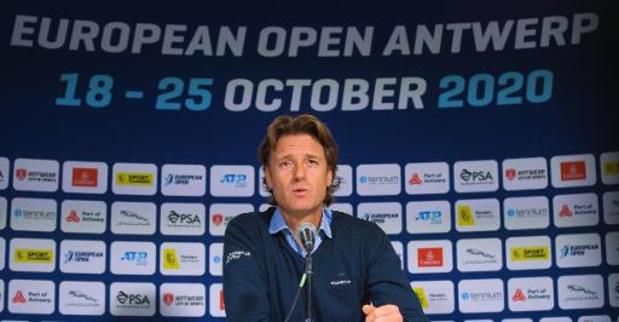 Le tournoi ATP d'Anvers pourra accueillir 1.500 spectateurs par jour