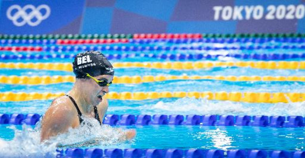 JO 2020 - Fanny Lecluyse en finale du 200 m brasse