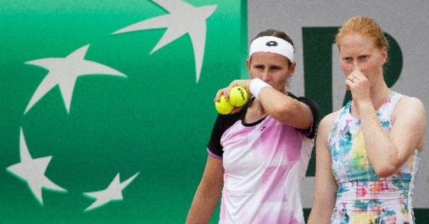 US Open - Greet Minnen et Alison Van Uytvanck en 8e de finale du double, en attendant Elise Mertens