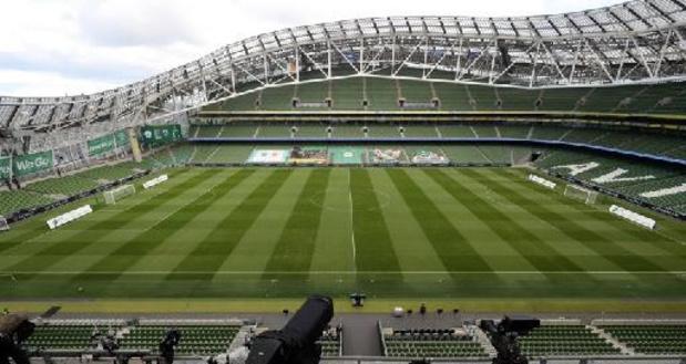 Dublin kan UEFA geen garanties bieden voor toeschouwers bij EK-duels