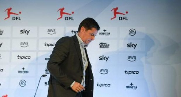 Bundesligaclubs zijn akkoord om competitie tot eind april op te schorten