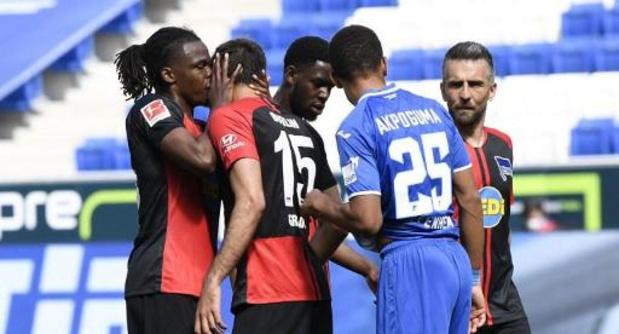 Dedryck Boyata s'excuse d'avoir touché avec ses mains le visage d'un équipier