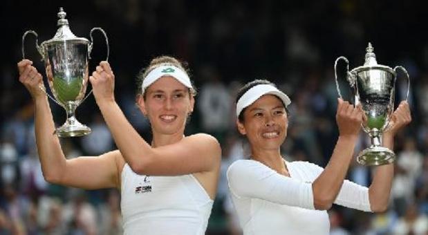 Elise Mertens zakt naar 17e stek op WTA-ranking en voert opnieuw dubbelranglijst aan