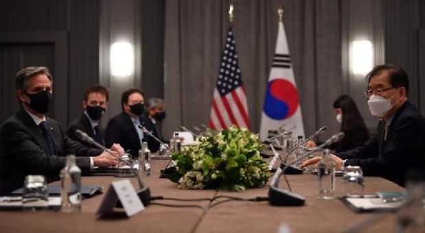 Amerikaanse buitenlandminister bespreekt aanpak Noord-Korea tijdens ontmoeting G7-landen