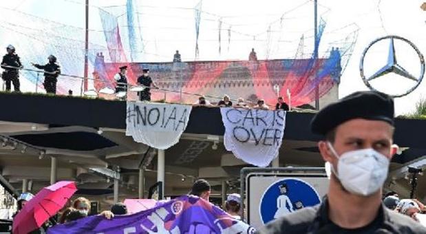 Opnieuw protestacties tegen autosalon van München