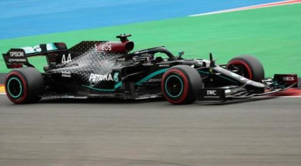 Lewis Hamilton (Mercedes) réalise sa 93e pole et s'élancera en tête du 65e GP de Belgique
