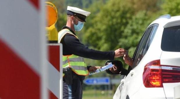 Duitsland versoepelt grenscontroles vanaf zaterdag
