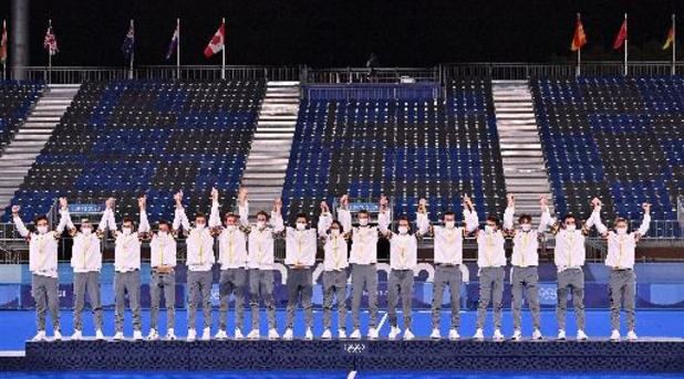 Jour historique avec deux titres olympiques belges grâce à Nafi Thiam et aux Red Lions