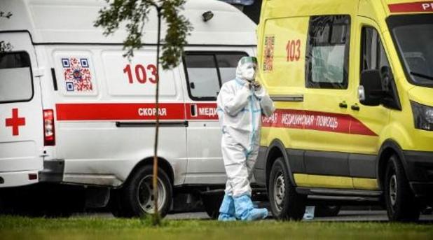 Covid: la Russie enregistre des records quotidiens d'infections et de décès